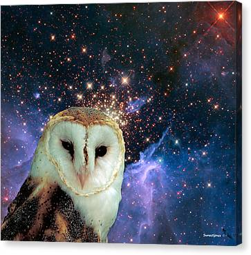 Celestial Nights Canvas Print by Robert Orinski