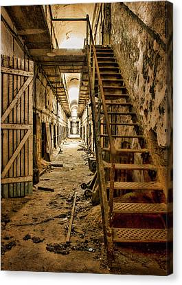 Cell Block 6 Color Canvas Print by Heather Applegate