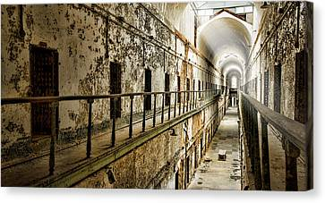Cell Block 7 Canvas Print by Heather Applegate