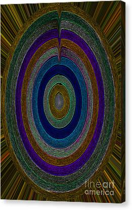 Center Sensation Canvas Print by Norma Appleton