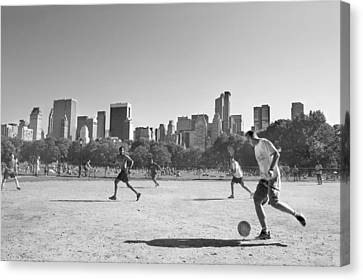 Central Park Canvas Print by Robert Lacy