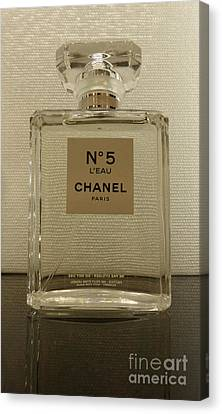 Chanel No 5 L'eau 2 Canvas Print by To-Tam Gerwe