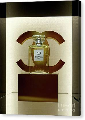 Chanel No 5 L'eau 3 Canvas Print by To-Tam Gerwe