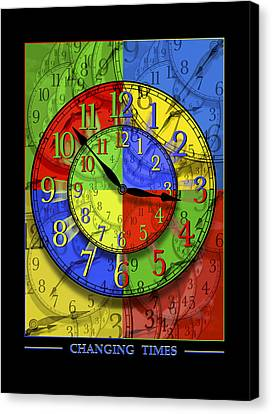 Changing Times Canvas Print by Mike McGlothlen