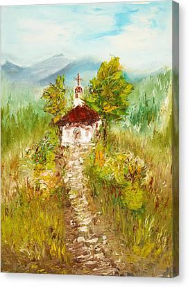 Chapel Canvas Print by Boyan Dimitrov