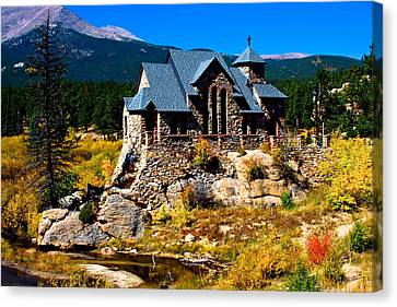 Chapel On The Rock  Canvas Print by James BO  Insogna