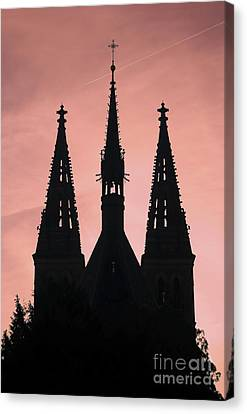 Chapter Church Of St Peter And Paul Canvas Print by Michal Boubin