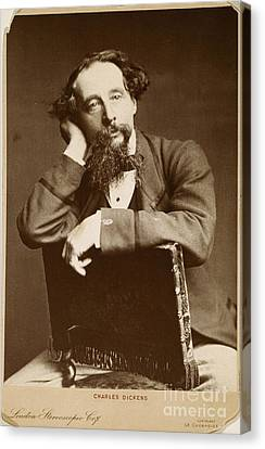 Charles Dickens Canvas Print by Granger