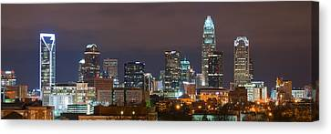 Charlotte Skyline 2012 Canvas Print by Brian Young