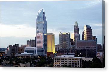Charlotte Skyline Canvas Print by Tim Mattox
