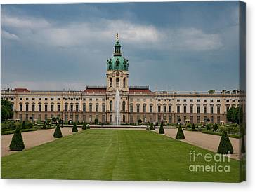 Charlottenburg Palace Canvas Print by Nichola Denny