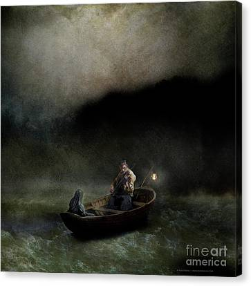 Charon's Lullaby Canvas Print by Silas Toball