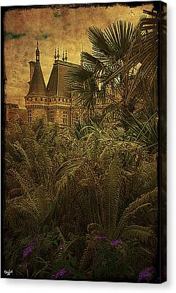 Chateau In The Jungle Canvas Print by Chris Lord