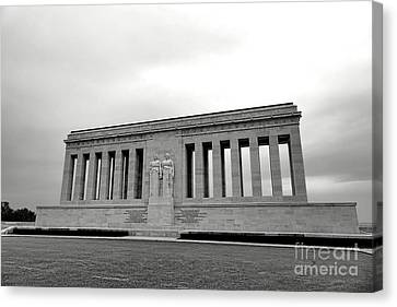 Chateau Thierry American Monument Canvas Print by Olivier Le Queinec