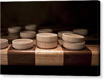 Checkers I Canvas Print by Tom Mc Nemar