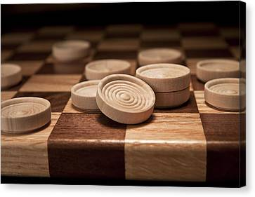 Checkers II Canvas Print by Tom Mc Nemar