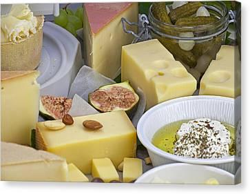Cheese Plate Canvas Print by Joana Kruse
