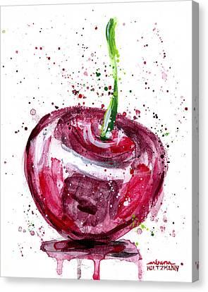 Cherry 1 Canvas Print by Arleana Holtzmann