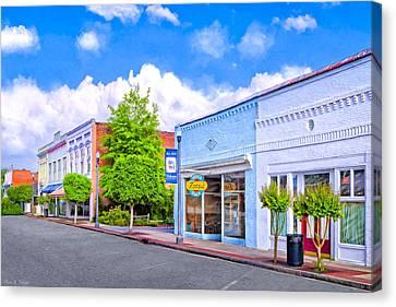Cherry Street Special - Montezuma Georgia Canvas Print by Mark E Tisdale
