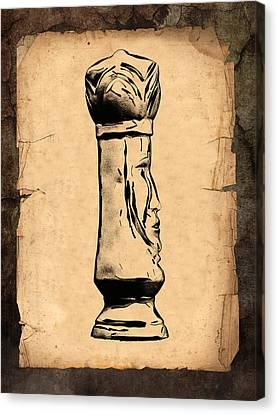 Chess King Canvas Print by Tom Mc Nemar