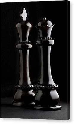 Chessmen I Canvas Print by Tom Mc Nemar