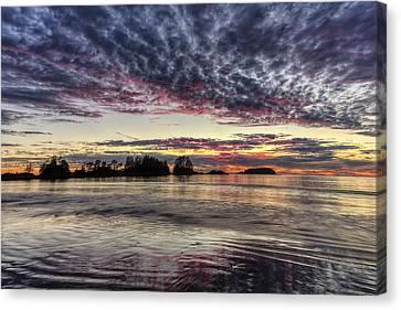 Chesterman Beach Sunset Canvas Print by Mark Kiver