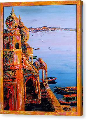 Chet Singh Canvas Print by Art Nomad Sandra  Hansen