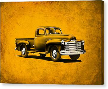 Chevrolet 3100 Canvas Print by Mark Rogan