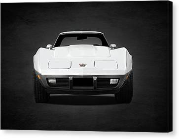 Chevrolet Corvette Sting Ray Canvas Print by Mark Rogan