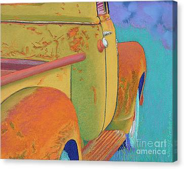 Chevy Summer Canvas Print by Tracy L Teeter