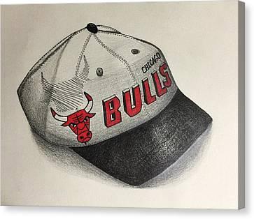 Chicago Bulls Canvas Print by Jacyca Abrams