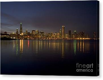 Chicago Skyline  Canvas Print by Timothy Johnson