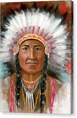 Chief Joseph Canvas Print by John De Young