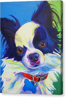 Chihuahua - Esso-gomez Canvas Print by Alicia VanNoy Call