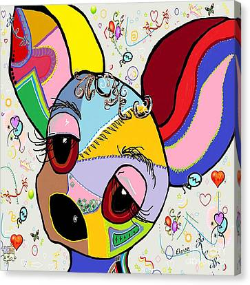 Chihuahua Canvas Print by Eloise Schneider