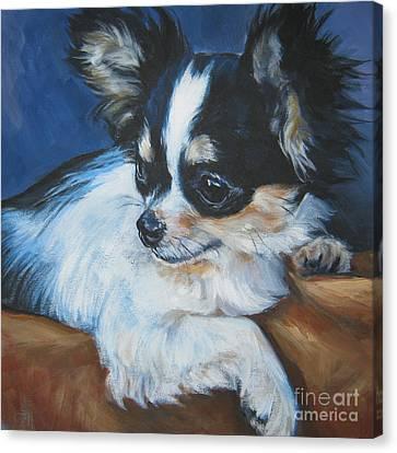 Chihuahua Canvas Print by Lee Ann Shepard