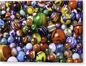Childhood Marbles Canvas Print by Garry Gay