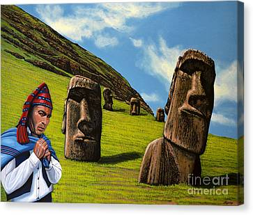 Chile Easter Island Canvas Print by Paul Meijering