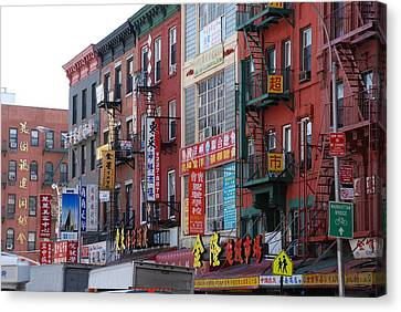 China Town Buildings Canvas Print by Rob Hans