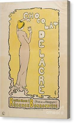 Chocolat Delacre Canvas Print by MotionAge Designs