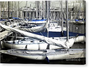 Choices In The Port Canvas Print by John Rizzuto