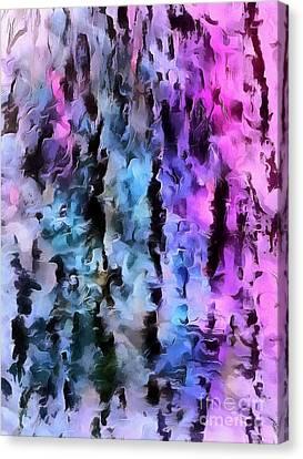 Choose Your Illusion Canvas Print by Krissy Katsimbras