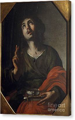 Christ Canvas Print by Celestial Images