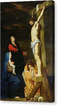 Christ On The Cross Canvas Print by Gerard de Lairesse