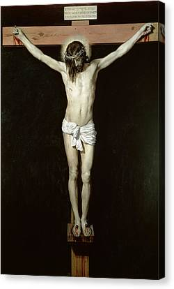 Christ On The Cross Canvas Print by Velazquez
