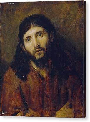 Christ Canvas Print by Rembrandt Harmensz van Rijn
