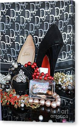 Christian Louboutin Shoes 2 Canvas Print by To-Tam Gerwe
