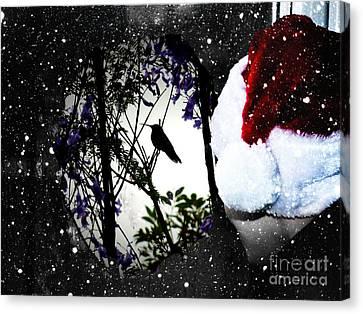 Christmas Card 2016 - 12 Canvas Print by Al Bourassa