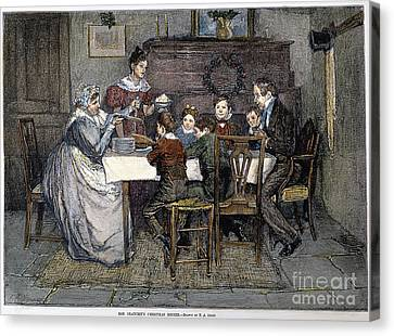 Christmas Carol Canvas Print by Granger