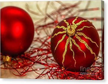 Christmas Decoration Canvas Print by Patricia Hofmeester